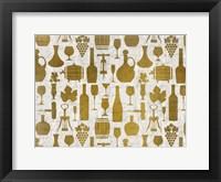 Framed Wine Elements