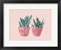 Framed Two Pink