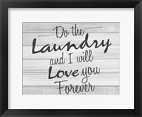 Framed Do the Laundry