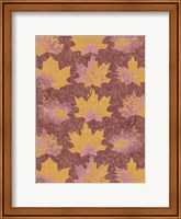 Framed Pattern of Leaves