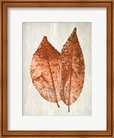 Framed Copper Leaves 2