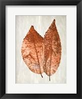 Framed Copper Leaves 2
