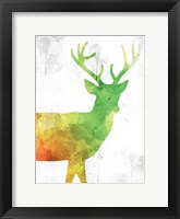 Framed Watercolor Silhouette 3