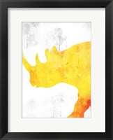 Framed Watercolor Silhouette 4