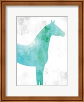 Framed Watercolor Silhouette 5