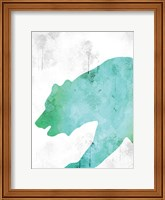 Framed Watercolor Silhouette 6