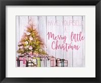 Framed Have Yourself a Merry Little Christma
