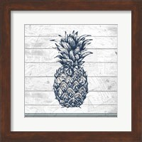 Framed Country Pineapple 1