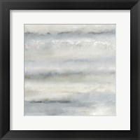 Framed Soft Layers of Blue 2
