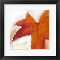 Framed Splatter Leaves 2