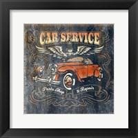 Framed Car Service