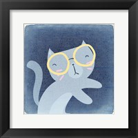 Framed Quirky Cats 1