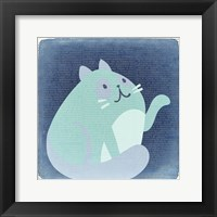 Framed Quirky Cats 4
