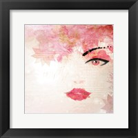 Framed Pink Love