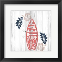 Framed California Surf 3