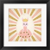 Framed Bunny Princess 1