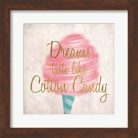 Framed Cotton Candy 1