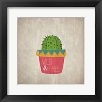 Framed Wild Cactus 3