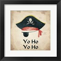 Framed Yo Ho Yo Ho 1
