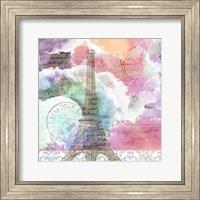 Framed Watercolor Travel 3
