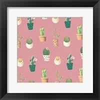 Framed Cactus Pattern 2