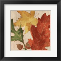 Framed Fall Leaves Square 2