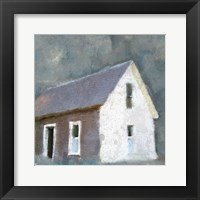 Framed Schoolhouse Grey