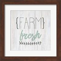 Framed Fresh Farm