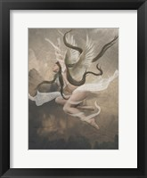 Framed Winged Fairie IV