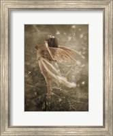 Framed Winged Fairie I
