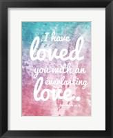 Framed Everlasting Love