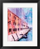 Framed Colorful Riverfront