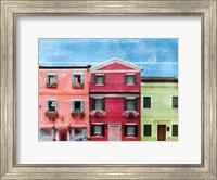 Framed Vibrant Homes 3