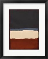 Framed Abstract Streaks