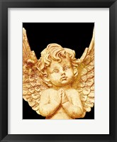 Framed Golden Angel