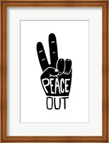 Framed Peace Out