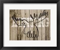 Framed Hunting Life 1