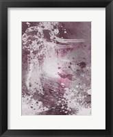 Framed Plum Explosion 1