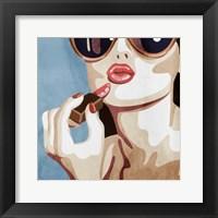 Framed Fashionable Kiss