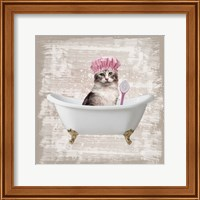 Framed Kitty Baths 1