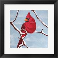 Framed Nesting Winter