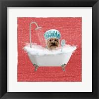 Framed Steamy Bath 1