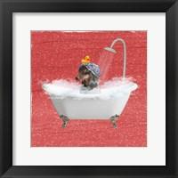 Framed Steamy Bath 2
