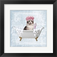 Framed Fun Kitty Bath 1