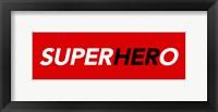 Framed SuperHERo Red 1