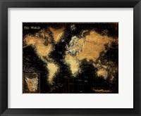 Framed Golden World