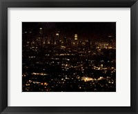 Framed LA At Night