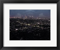 Framed LA Nightlife Color