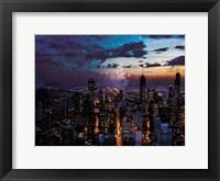 Framed Chicago Skyline