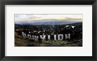 Framed Hollywood View